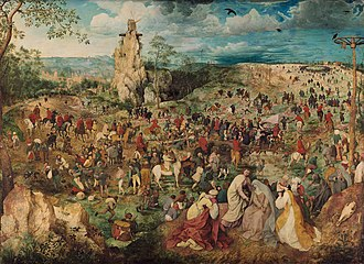 1564 in art - Bruegel - The Procession to Calvary