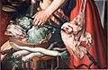 Pieter aertsen, la cuoca, 1559, 04 rape e lattuga.JPG