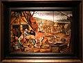 Pieter bruegel il giovane, allegoria dell'autunno, o uccisione del maiale, firmato.JPG