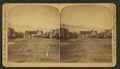 Pikes Peak Avenue, Antler's Hotel. (Pikes Peak in distance.), by Charles L. Gillingham.png
