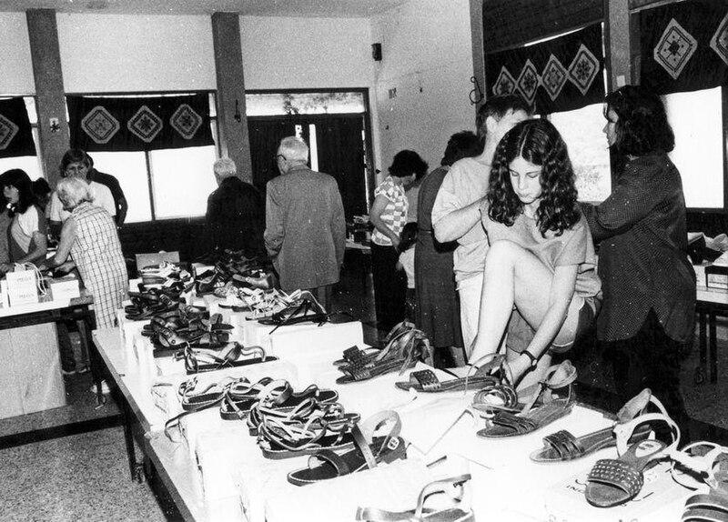 תערוכת נעליים