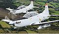 Pilatus PC-9 of the Irish Air Corp flying in formation 3.jpg