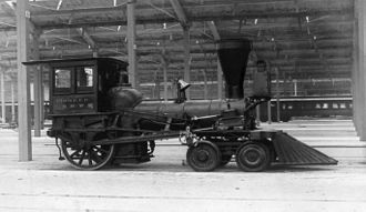 4-2-0 - The Chicago and North Western Railway's first locomotive, Pioneer