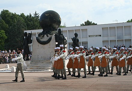 Pioneers of the 1st Foreign Regiment. - French Foreign Legion