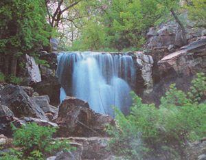 Pipestone National Monument - Image: Pipe Winnewissa falls