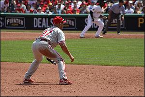 Plácido Polanco - Plácido Polanco fielding 3rd base during a 2011 game vs. the Pittsburgh Pirates.