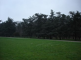 Parc de Parilly - Park forest and field