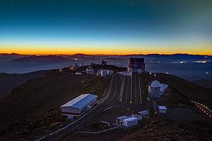 Celestial event - Image: Planets Align Over La Silla