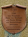 Plaque - Oberstraße 16 56329 St. Goar Germany.jpg