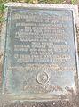 Plaque Commemorating Battle of Harlem Heights, near Riverside Church.jpg