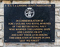 Plaque LST Landing Craft 1944 Arromanches.jpg