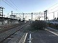 Platform of Kanda Station (Nippo Main Line) 3.jpg