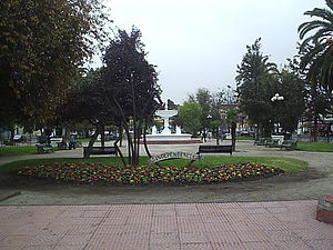 Independencia, Chile - Plaza Chacabuco