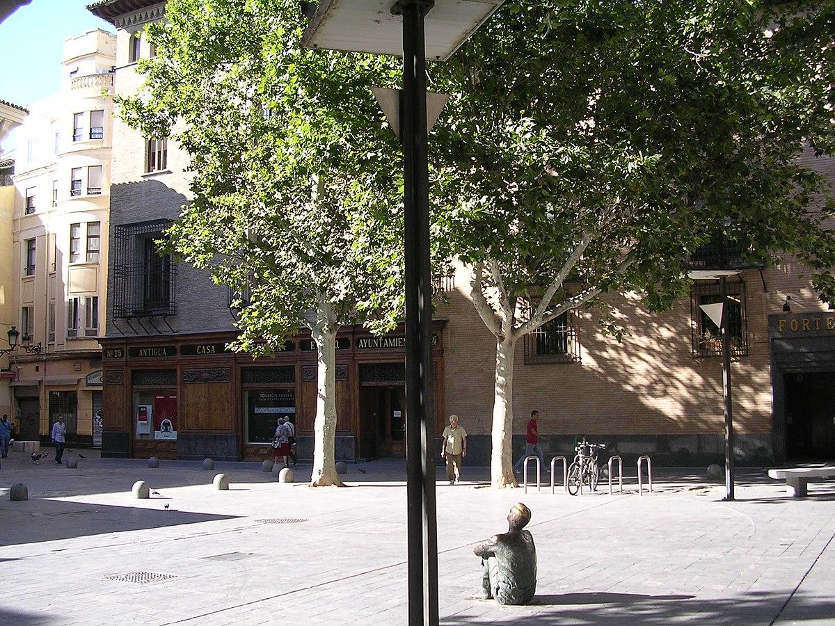 Plaza De San Felipe Zaragoza Wikipedia La