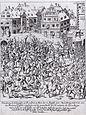 Plünderung der Frankfurter Judengasse am 22. August 1614