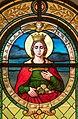 Poertschach Pfarrkirche hl Johannes d T Kluch-Glasfenster-Ausschnitt 20082015 6833.jpg
