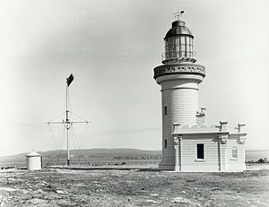 Point Perpendicular Light - Point Perpendicular lighthouse, 1917