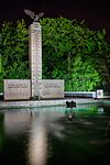 Polish War Memorial at Night side view.jpg