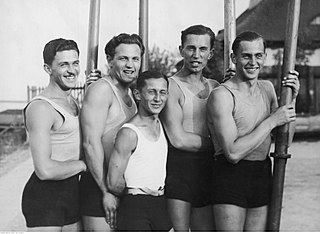 Rowing at the 1932 Summer Olympics – Mens coxed four Olympic rowing event