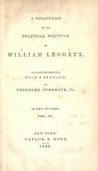 Political Writings of Leggett, v2.djvu