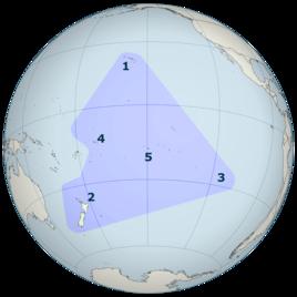 Polynesisches Dreieck (1: Inselgruppe Hawaii)