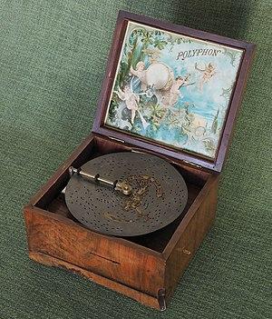 Music box - Music box by Polyphon-Musikwerke in Leipzig, Germany.