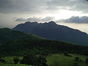Varayadumotta - Ponmudi in the evening