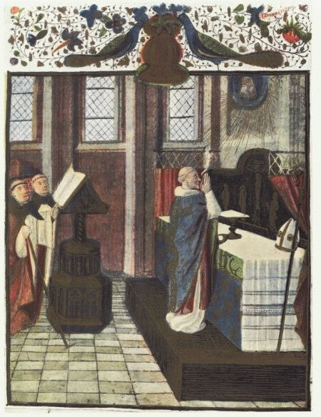 Pontifical Mass - 15th Century - Project Gutenberg eText 16531