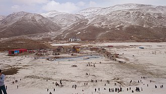 Pooladkaf - Image: Pooladkaf ski resort Ardakan