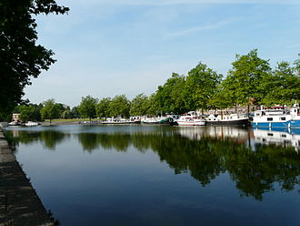 Cambrai - The marina of Cantimpré