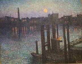 Puerto de Londres, Noche Alto Museo de Arte