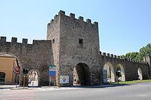 Le mura medievali di Rieti