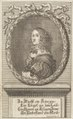 Porträtt på drottning Kristina i bok om henne från 1705 - Skoklosters slott - 91441.tif