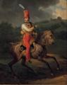 Portrait équestre de Duc d'Orléans Louis Philippe en uniforme de Colonel-Général des hussards.png