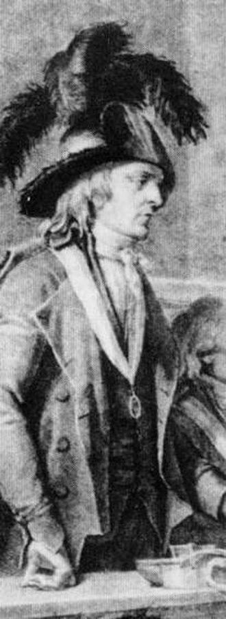 Revolutionary Tribunal - Tribunal President Herman interrogating Marie-Antoinette