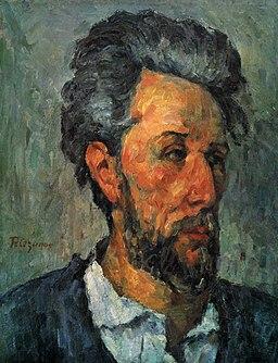 Portrait de Victor Chocquet, par Paul Cézanne, Yorck