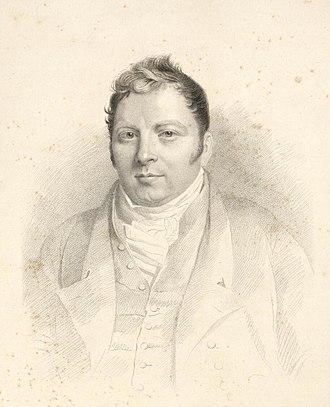 Charles Lewis (bookbinder) - Lewis, c. 1810, by George Robert Lewis
