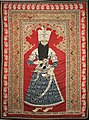 Portrait of Fath Ali Shah - Iran, Rasht or Tehran - c. 1850 - Historisches Museum Bern - 1914.630.0319 (MT 319).jpg