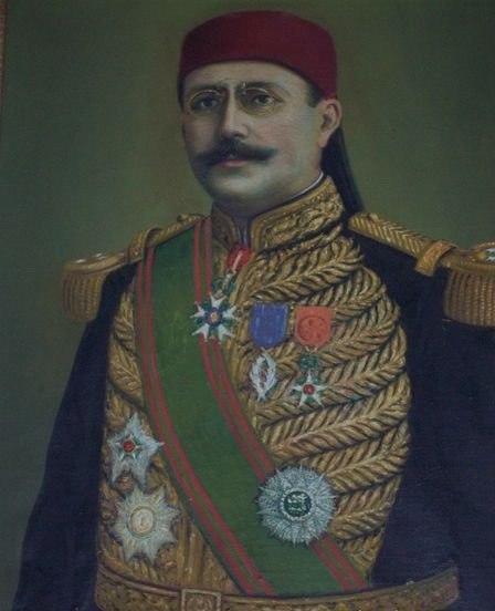 Portrait of Hédi lakhoua by Hédi khayachi