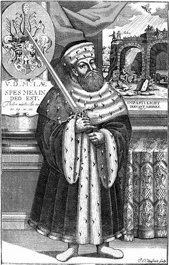 John Frederick I, Elector of Saxony - Portrait of Johann Frederick of Saxony (17th Century)