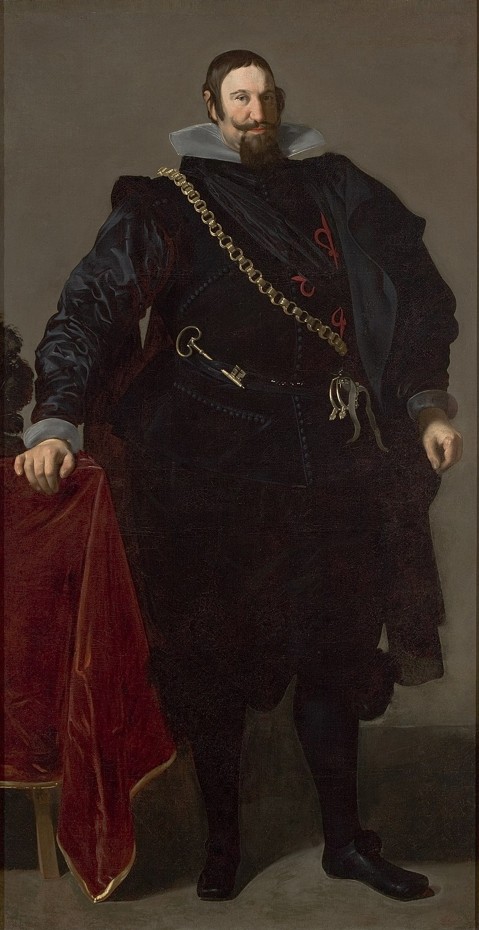 Portrait of the Count-Duke of Olivares - Google Art Project