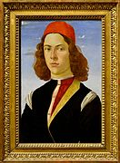Portrait of young man by Sandro Botticelli - Louvre.jpg