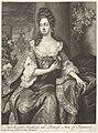 Portret van Anna Stuart, koningin van Engeland Her Royall Highness the Princess Ann of Denmark (titel op object), RP-P-OB-9209.jpg