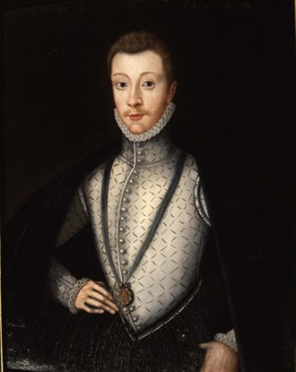 Kirk o' Field - Posthumous portrait of Darnley, attributed to Adrian Vanson