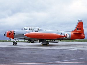 103 Squadron (Portugal) - Former T-33 Shooting Star of the 103 Squadron