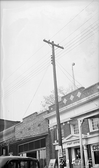 National Register of Historic Places listings in Gibson County, Tennessee - Image: Post Office NARA 280202 cropped