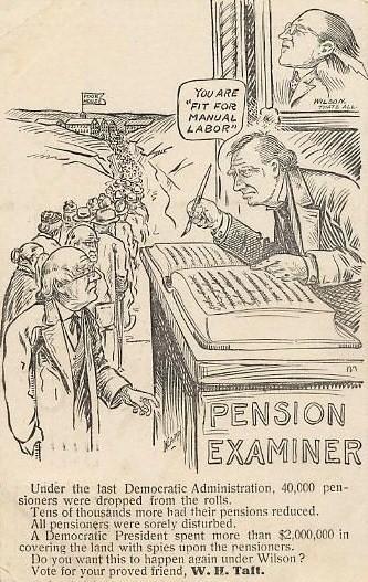 PostcardTaftPensionExaminer1912