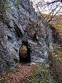 Povltavská stezka, první tunel, od Třebenic.jpg