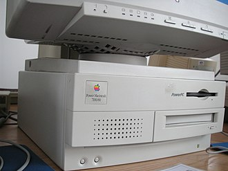 Power Macintosh 7100 - A Power Macintosh 7100/80