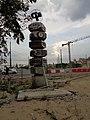 Poznań-signpost near Poznań International Fair.jpg